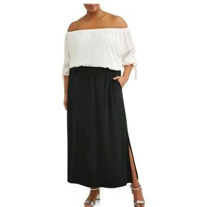 Maxi skirt relax fit